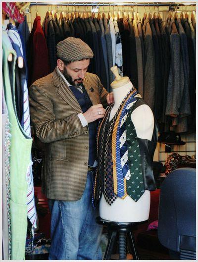 Tailoring Tailormade Tailor Shop Tailor Tie Shop Ties Camden Town Camden Market London Postcode Postcards
