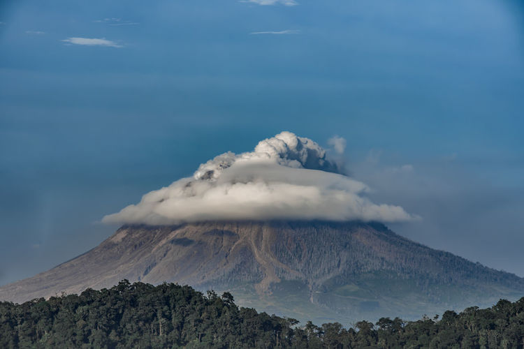 Active Volcano Beauty In Nature Cloud - Sky Environment Erupting Geology Land Landscape Mountain Mountain Peak Nature No People Non-urban Scene Outdoors Pollution Power Power In Nature Scenics - Nature Sky Smoke - Physical Structure Tranquil Scene Tranquility Volcanic Crater Volcano A New Beginning