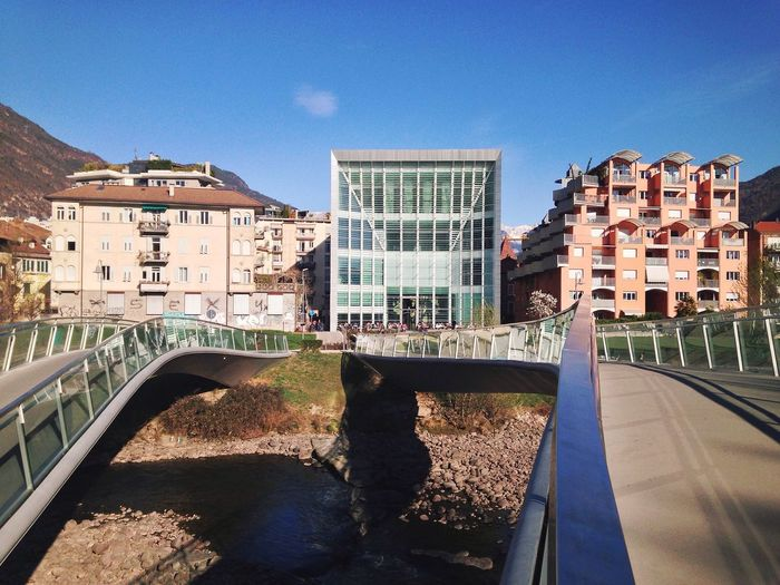 Bolzano - Bozen Bolzano Museion Museum Museum Of Modern Art Trentino Alto Adige South Tyrol Italy One Year Project 79/365 2017 March 20 Architecture Built Structure Building Exterior City Day Clear Sky Outdoors The Way Forward No People Sky