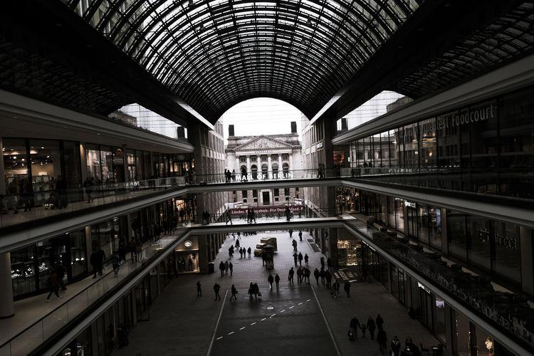 travel inside Berlin Berlin Mall Berlin Mitte Berlin Streetart Architecture Built Structure Indoors  Mall Modern Streetphotography