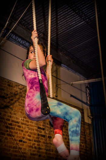 la niña trapecista Trapecista Children Children Photography Acrobat Acrobatics  Acrobacy Trapecio Gymnastic Gymnastics Gimnastics