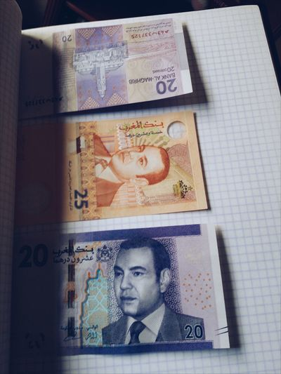 Smiling paper 💵💴💶💷 Made In Morocco Freshness Human Representation Agreement Mutualismsymbiosis Money Money Around The World Money Art Paper Money Finding Findings Mobilephotography Shootermag AMPt_community Vscocam VSCO Snapseed AndroidPhotography Androidography Casual Reporting Globalization Made In Africa Kingdom Of Morocco MohammedVI