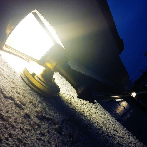 Lamps Nightphotography Night Lights Mobilephotography Blackberryphoto Phoneography Sky Blue Sky Lamp Post
