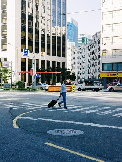 Walk This Way Street Photography Streetphoto_color Crosswalk EyeEm In Seoul