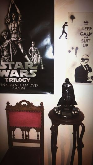 One of the corners of the house!! Star Wars Suitedup Darth Vader