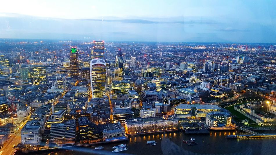 Cities At Night London London_only Londonpop Londonlife London Streets Londoners London Architecture Night London Nightphotography Night View Nightscape Skyline Skyscrapers Skyview View From The Top View From The Shard