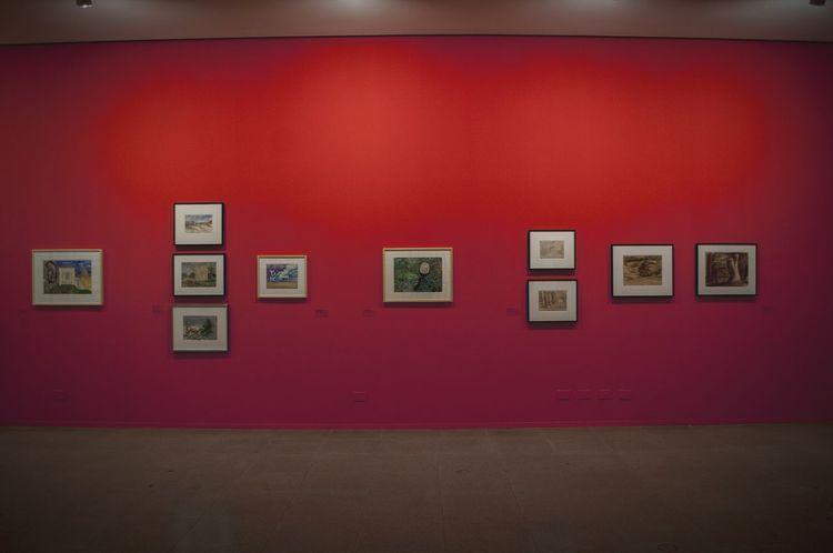 Red Indoors  Museum Museum Of Modern Art Art Gallery Art