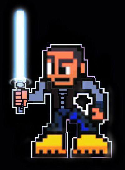 Jedi Jediknight 8bit