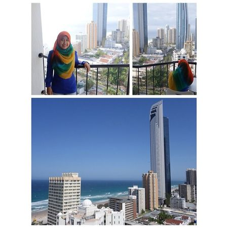 Tenang & damai! Words could describe such a breathtaking view from the 18th floor. Subhanallah. Alhamdulillah. Outriggersufersparadise GoldCoast Exploreaustralia Beautiful glamjourneys throwback LZinGoldCoast freetrip linazahrah linazahrah igersmalaysia igmalaysia