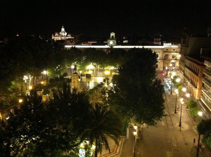 Plaza Nueva by night #sevilla