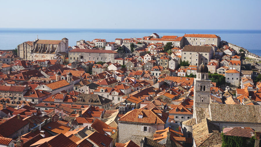 Medieval city of dubrovnik, croatia