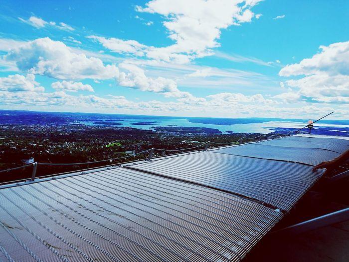 Norway🇳🇴 Holmenkollen Oslo Day Summer Sky