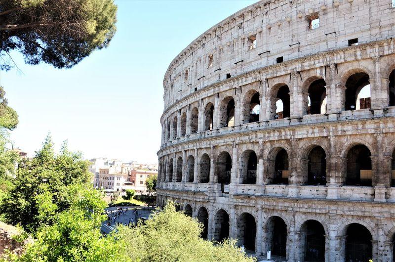 Ancient Civilization Ancient Rome Architecture Building Exterior Built Structure Colleoppio Colosseo Colosseum Outdoors Travel Destinations