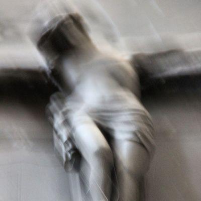 Jesus Figur im Merseburgerdom Schloss dom