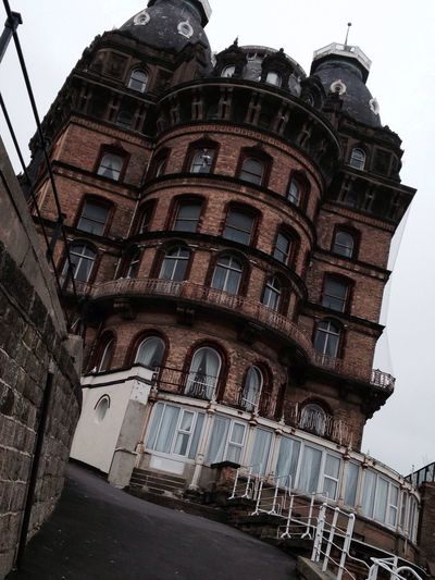 Scarbrough Hotel Old Scary Old Scary Hotel Day Time Walking Enjoying Life