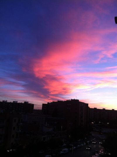 today's sunset Sunset Capvespre Sabadell Skies no filter