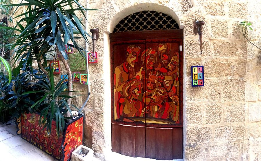 Art Is Everywhere Architecture Built Structure Door Building Exterior Entrance Day Arch Window No People Multi Colored Outdoors Art