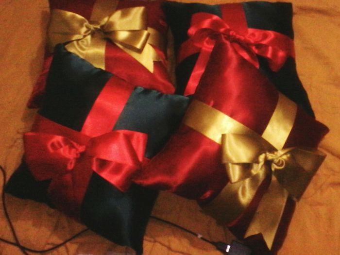 Encomenda de hoje almofadas Natalinas!!! Natal2015
