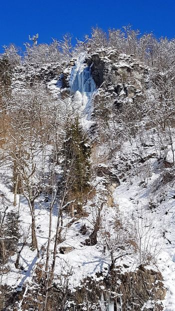 Extreme Weather Georgia Frozen Frozen Waterfall Cold Temperature Winter Nature Beauty In Nature Water Fall