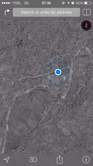 This Is Where I Live... The Path Less Traveled By Pointer Footwear it's in the middle of nowhere...