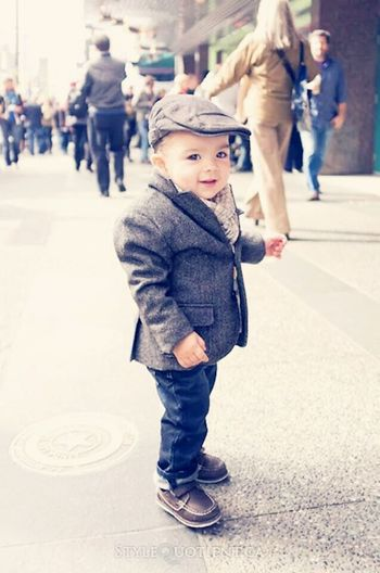 Cute Baby Littleboy Adorablekids OpenEdit Classic Style