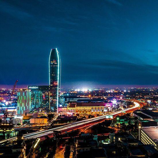 Cities At Night Los Angeles Life Downtown Los Angeles Los Angeles, California California Losangeles_la 101 Freeway LA TurnUpTheBrightness Long Exposures Long Exposure DiscoverLA DTLA Skyline DTLA
