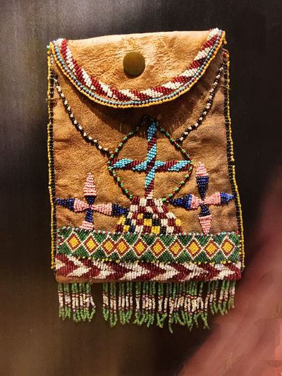 Native American beadwork. Art There Be Dragons Streamzoofamily OpenEdit Historical Sights AMPt_community Enjoying Life Tadaa Community Walking Around Taking Photos