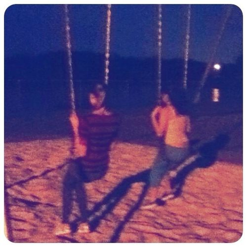At the park to day wit rebekah