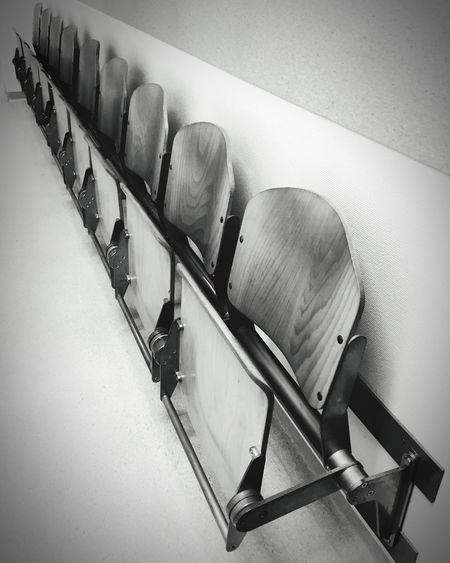 Waitingroom No People Wood - Material Chair Close-up Day Chairporn Waiting Waitingroom Arcitecture Arcitecture_bw