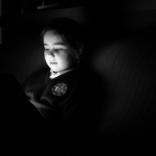 Child Relaxation Indoors