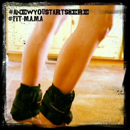 Adding ankle weights to the daily regimen Legs Fit Girl