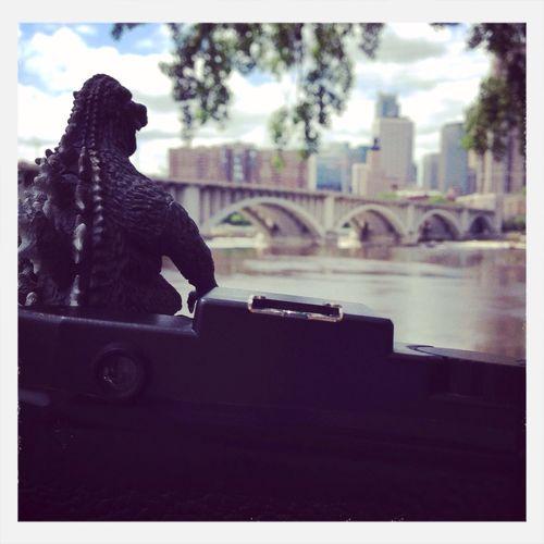 Behind the scenes: Godzilla series Holga Holgaweek