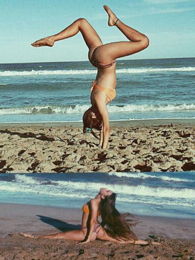 My Hobby Gimnastic Beach Thisisliving Thelittlethingsthatmakesmehappy