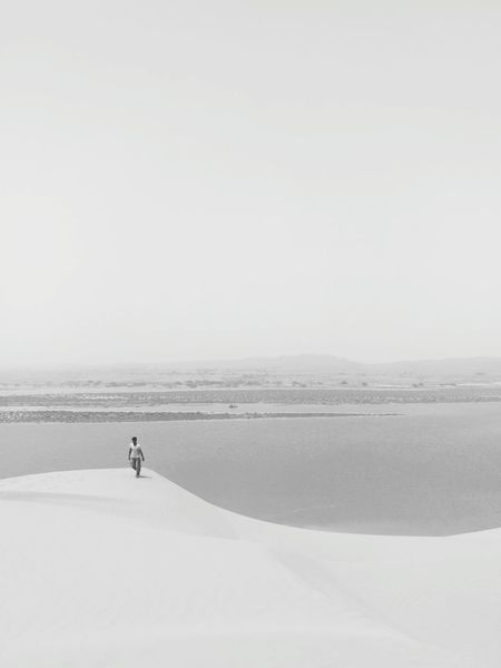 Salt - Mineral Full Length Sea Sport Sky Horizon Over Water Landscape