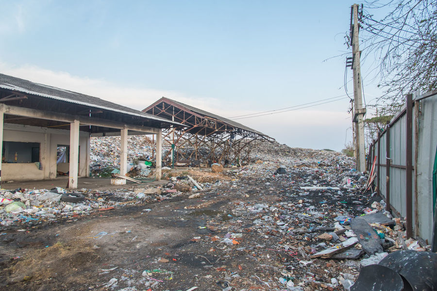 Bin Dirty Ecology Environment Garbage Industry Junk Landfill Landfill City Landfill In Thailand Landfill Waste Plastic Recycle Rubish Thailand Toxic Trash Waste