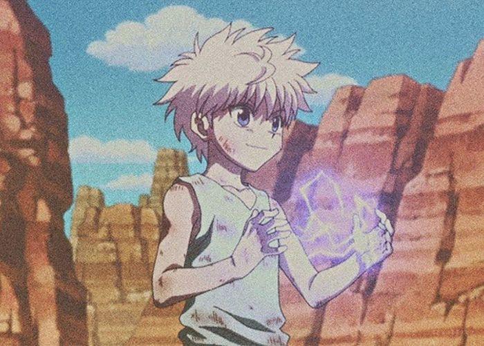 Hunterxhunter Killua Gon Anime