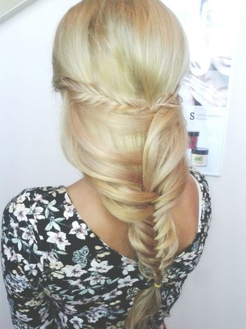 Blonde Girl Blonde ♡ Beautiful ♥ Polishgirl Sweet♡ Elza Fashion Hair That's Me