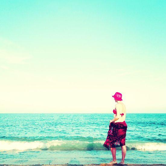 As she fades | Ella desvaneciéndose Landscape Beach Exploring Collaboration with @etna_11
