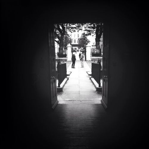 Out of the door. Monochrome Blackandwhite Shadows