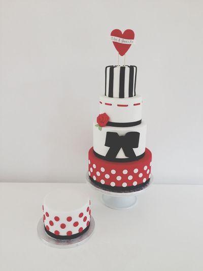 L'amour 😍❤ Love Cake Stvalentin SugarSugarNantes