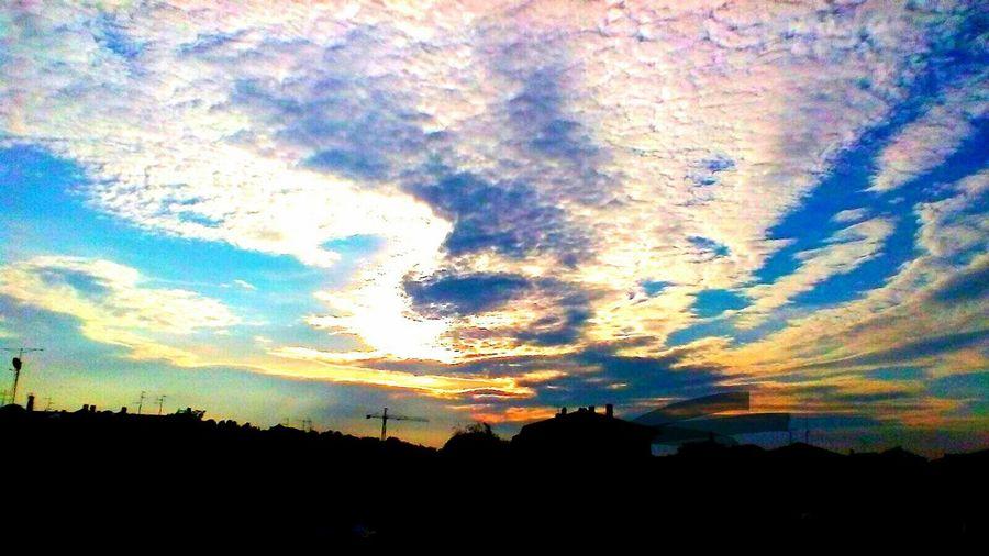 cielo sky cloud