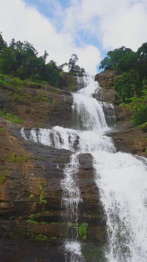 Landscape Nature Waterfall hill