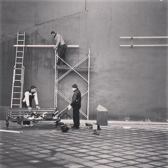 кубизм ремонт собянин москвичи лестницастенагородМоскваТретьяковскаяцентрcitycenterMoscowrepairconstructioncubism