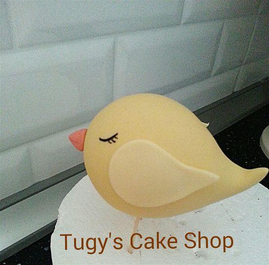 Sugarart Fondant  Bird Boutiquecake Happy TugysCakeShop Weekend