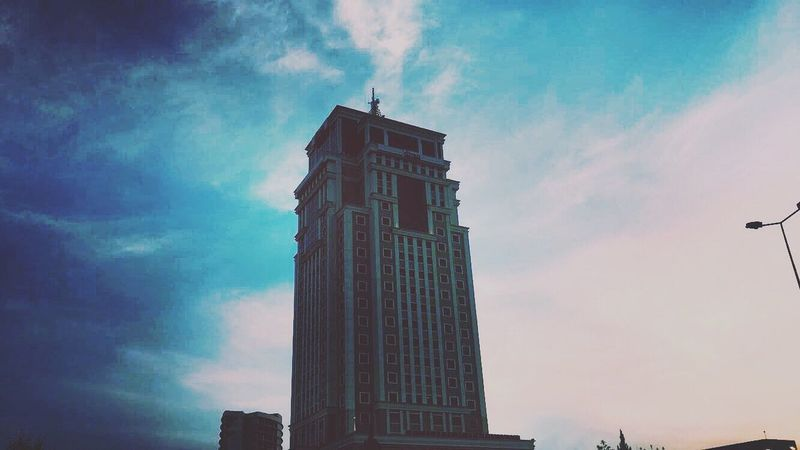 Photography VSCO Street Photography Filter View Tumblr Building Exterior Building Iphone6s Exterior Erbil Hotel Divan  Hawler Sky Light Trip Vintage Instagram Igers