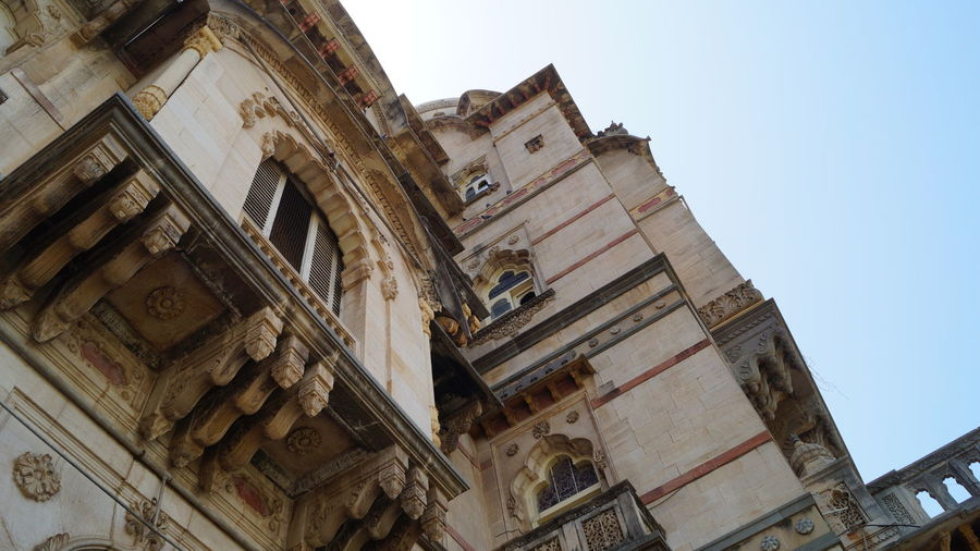Architecture Architecture Baroda Building Exterior Built Structure City Clock Craftsmanship  Day Gujarat Historical History India Lakshmivilaspalace Low Angle View No People Outdoors Palace PalacesOfIndia Sky Vadodra Windows