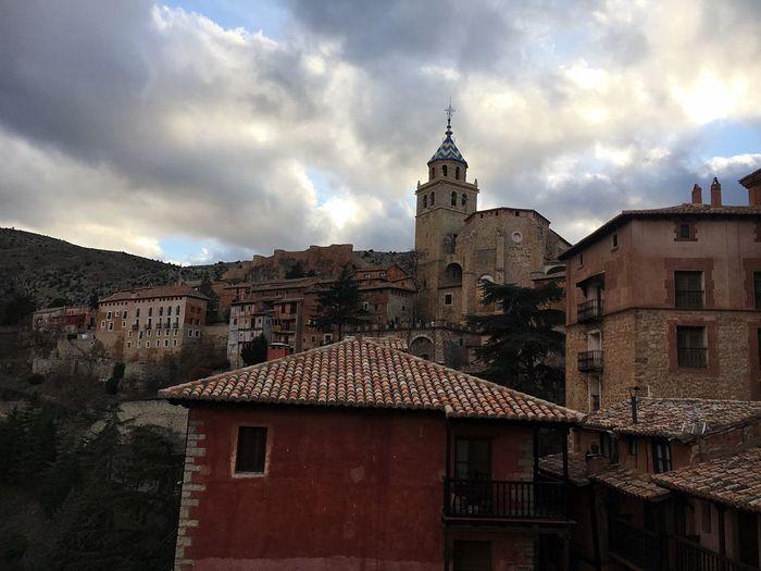Albarracín Teruel Aragón Albarracín Village View