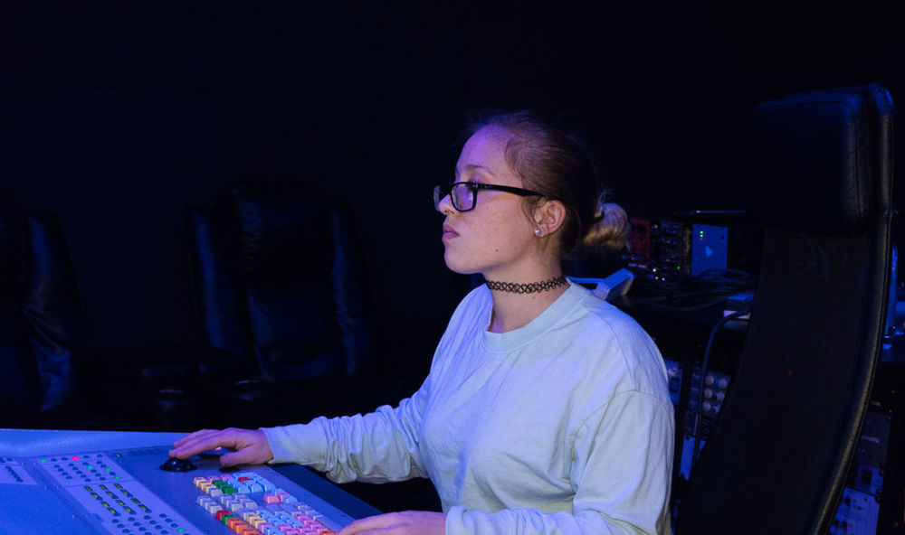 #Artist #MusicianLife #SonyA6300 #WomeninBusiness #engineering #mixing #music #recording Studio #sound Engineer #sound Engineer Mixer #youngwoman Adult Computer Computer Monitor Eyeglasses  Indoors  Keyboard Real People Technology Working Young Adult