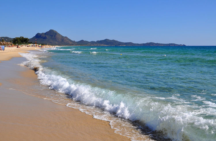 sardinia beaches Beach Beachphotography Beauty In Nature Day Idyllic Italy Mediterranean  Mediterranean Sea Nature Outdoors Sardegna Sardinia Sardinia Sardegna Italy  Scenics Sea Sea And Sky Seaside Sky Tranquil Scene Tranquility Travel Travel Destinations Traveling Trip, Water