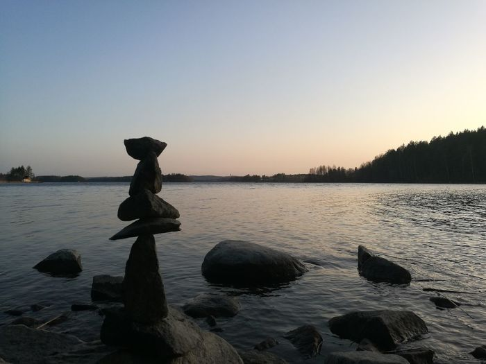 Nordic spring Water Clear Sky Sunset Beach Lake Business Finance And Industry Sky Landscape My Best Photo The Great Outdoors - 2019 EyeEm Awards The Mobile Photographer - 2019 EyeEm Awards